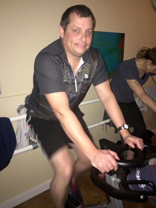 Paul Andrews Spinathon 2016 Hereford
