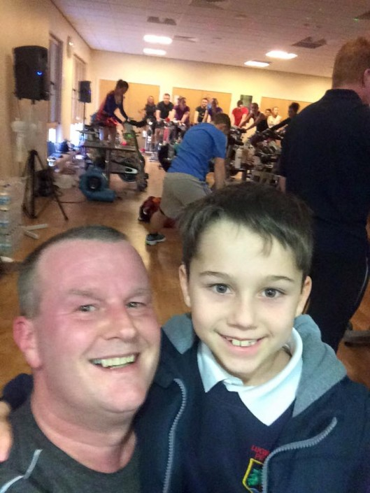 Paul Neades Spinathon 2016 Hereford