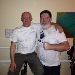 Jon Stannard and John Harrington Spinathon 2016 Hereford