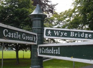 Hereford Signpost